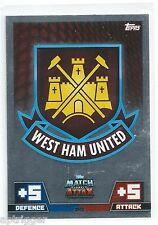 2014 / 2015 EPL Match Attax WEST HAM UNITED Glossy Tactic Logo Card