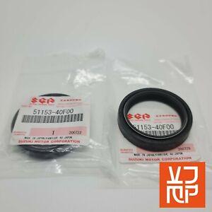 GENUINE SUZUKI GSXR1000 K1 K2 K3 K4 Fork Seals 51153-40F00 ( 1 PAIR)