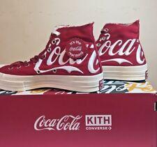 Converse Kith Coca Cola Red 9.5 Mens Brand New