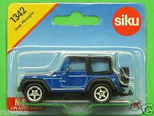 Siku Super Serie 1342 Jeep Wrangler verkehrsblaumetallic/schwarz