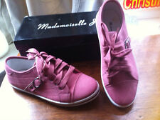 LADIES/GIRLS SHOES/TRAINERS, MADEMOISELLE J, SIZE 4 UK / 37 EU.