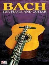 Bach For Flute And Guitar Learn to Play Guitar TAB Music Book