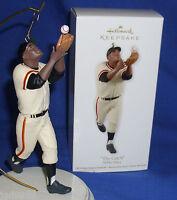 Hallmark Baseball Ornament The Catch 2012 Willie Mays New York Giants NIB