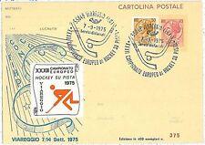 SPORT -  HOCKEY: POSTAL HISTORY - ITALY 1975