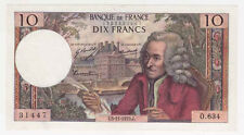 10 Francs Voltaire 05/11/1970 Sup + ( 189 )