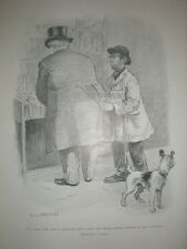 We cannot look upon a great man without gaining something by him 1902 cartoon