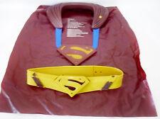 RARE Superman Fight n Fly Cape & Belt Lights & Sounds Boy's Costume 2005 Mattel