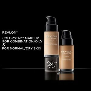 Revlon Colorstay Foundation Combination/Oily or Normal/Dry Skin- Chose Shade