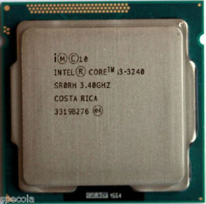 Intel Core i3 3240 - 3.4 GHz Dual-Core SR0RH UNBOXED CPU ONLY Warranty