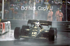 Nigel Mansell Lotus 95T Monaco Grand Prix 1984 Photograph 4