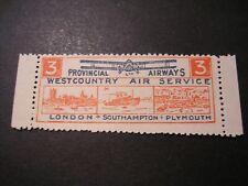 Cinderella / Poster Stamp Aviation Provincial Airways