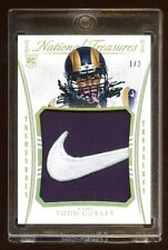 2015 NATIONAL TREASURES TODD GURLEY RC #D 1/2 *NIKE* LOGO PATCH  AMAZING PULLED