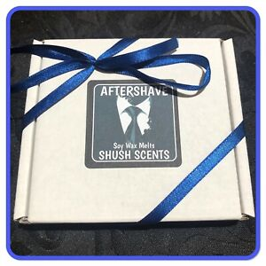 9 Soy Wax Melts In Gift Box AFTERSHAVE inspired scents