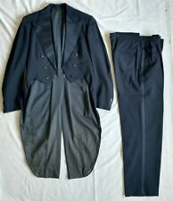 Vintage Dark Blue Tuxedo with Tails and pants - great for costume