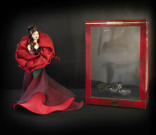 THE ROSE BARBIE DOLL LIMITED EDITION mattel FLOWERS IN FASHION COLLECTION COA