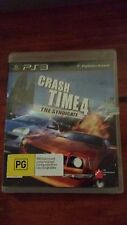 Crash Time 4 The Syndicate (Sony Playstation 3, PS3) Complete Racing