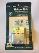 Little Giant 20W 12V Halogen Bulb-Submersible Replacement for LVL/LVLT #570703