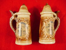 Vintage Souvenir NYC Empire State Building Salt & Pepper Shakers Ceramic