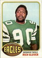 1976 Topps #121 Rich Glover RC - EX