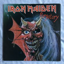 "IRON MAIDEN -Purgatory- Rare Original UK 7"" + Picture Sleeve (Vinyl Record)"