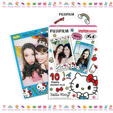 10PCS Hello Kitty Fujifilm Instax Mini Film For Fuji Instant 7s 8 50s 90 Camera