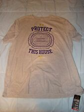 UNDER ARMOUR BALTIMORE RAVENS NFL GRAY PURPLE PROTECT THIS HOUSE SHIRT SMALL !!!