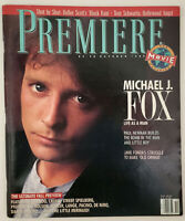 MICHAEL J FOX Gregory Peck JIMMY SMITS Old Gringo 1989 Premiere magazine