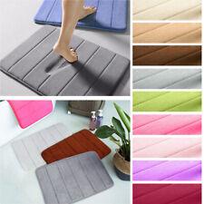 Absorbent Memory Foam Non-slip Carpet Bath Bathroom Floor Shower Mat Rug 16x24in