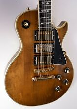 1977 Gibson Les Paul Custom ARTISAN 3-Pickup Walnut ~MINTY~ 1970s Guitar w/OHSC
