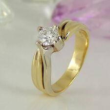 VVS1 Solitäre Echte Diamanten-Ringe für Damen