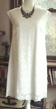 Laura ashley white broderie anglaise dress. Size 8.