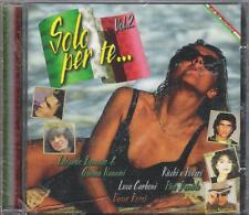"VASCO  FOGLI  TOZZI  ALICE - CD GERMANY CELOPHANATO ""  SOLO PER TE ... VOL.2"""