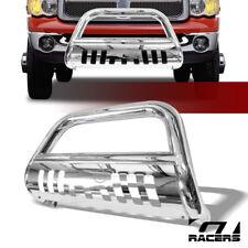 For 2002 2009 Ram 1500 2500 3500 Stainless Bull Bar Brush Bumper Grille Guard Fits 2005 Dodge Ram 1500