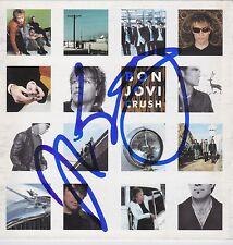 Jon Bon Jovi signed Bon Jovi Crush cd