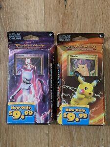 Pikachu Power & Mewtwo Mayhem XY Evolutions Theme Deck Pokemon TCG Evolutions XY