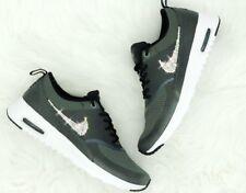 7453a52bb2e9 Crystal Nike Air Max Thea grau grey Gr. 40,5 Glitzer mit Swarovski Elements