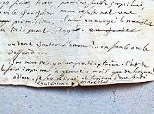 Lettre du pamphlétaire et compagnon de Gracchus Babeuf, Sylvain Maréchal.