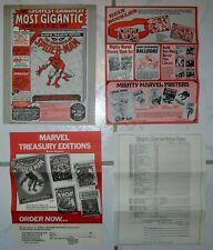 1975 Marvel Comics Stan Lee Merchandise Letter And Catalogs - Marvelmania!