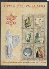 Vatican 1983 Art Exhibition M/Sheet  MNH per scan