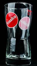"""Sinalco Limonade Glas / Gläser, """"Amsterdam"""" 0,2l Relief Glas"""