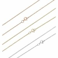 1mm Singapore Rope Chain Real SOLID 10k Or 14k Yellow White & Rose Gold Necklace