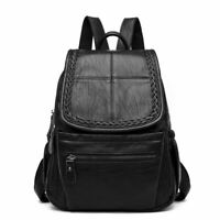Women Backpack Fashion Style Casual Elegant Faux Leather Rucksack