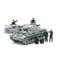 35354 Tamiya Plastic Kit German Tank Crew Scale 1/35th Model Figures Crafting