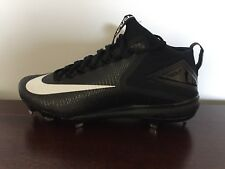 Nike Zoom Trout 3 Size 11.5 Metal Baseball Cleats Black (856503-011) MSRP $140
