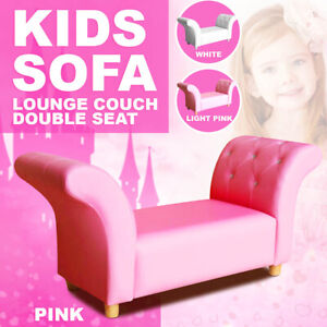 Kids Toddlers Sofa Lounge Couch Double Seat New