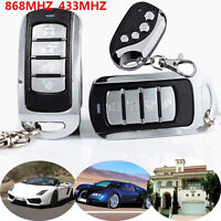 Universal Cloning Remote Control Key Fob fr Car Garage Door Electric Gate 868MHZ