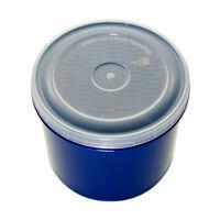 Vintage 80's Tucker Housewares Food Storage Container Dark Blue 4.5 Cups 1 Liter