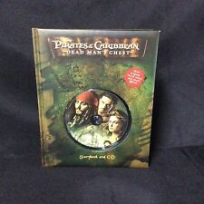 New Pirates Of The Caribbean Dead Man's Chest Book + CD ~