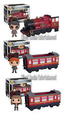 Harry Potter Hogwarts Express Funko Pop Vehicles Vinyl Figures Ron Hermione Set