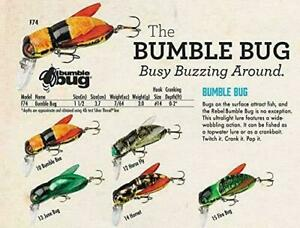 Rebel Lures Bumble Bug Fishing Lures~1 1/2 inch~7/64 oz~5 Choices~FREE Shipping